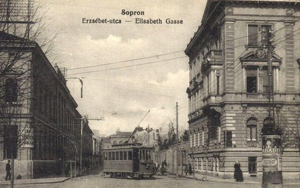 Erzsébet utca - kanyar a Deák térről