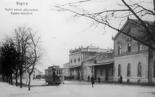 Győri (GYSEV) pályaudvar - végállomás