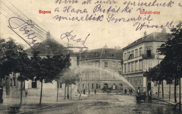 Újteleki utca a Kossuth utca felől