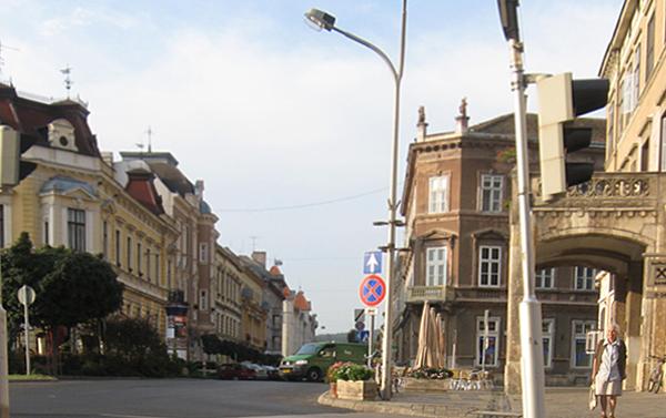 Erzsébet utca - Széchenyi tér