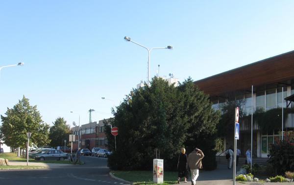 GYSEV pályaudvar