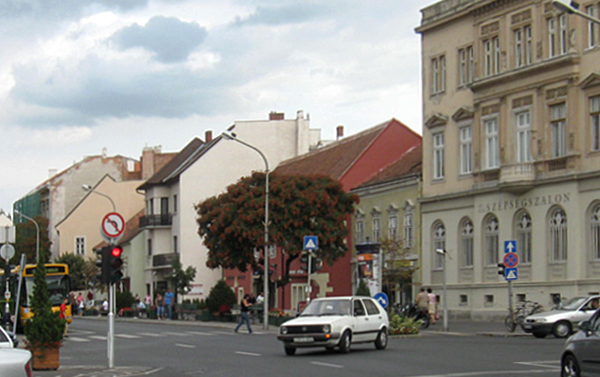 Várkerület - Árpád utca és Ikvahíd közötti szakasz