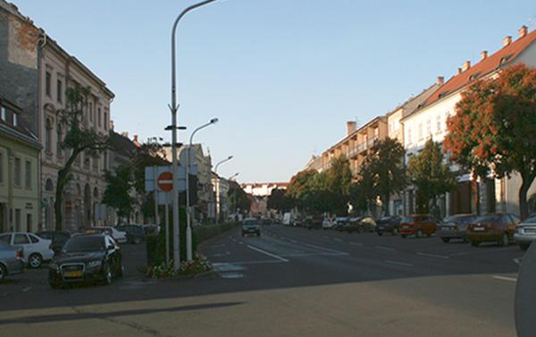 Várkerület - Lenck-átjáró előtti szakasz